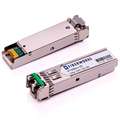 SFP, 1.25 Gbps GigE, DDM, 120km 1550nm, 32dB, SM/MM